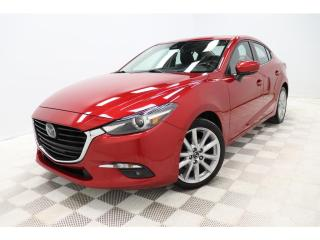 Used 2017 Mazda MAZDA3 *GT *CUIR/LEATHER *CAMERA *TOIT *BLUETOOTH *CRUISE for sale in St-Hubert, QC