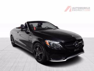 Used 2018 Mercedes-Benz C-Class C43 AMG Convertible 4Matic Cuir GPS for sale in St-Hubert, QC