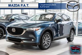 Used 2020 Mazda CX-5 GT AWD,AUTO,GPS,CAMÉRA DE RECUL,CUIR,TOIT OUVRANT for sale in Montréal, QC