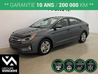 Used 2020 Hyundai Elantra PREFERRED SUN & SAFETY ** GARANTIE 10 ANS ** Occasion à saisir, comme neuf! for sale in Shawinigan, QC