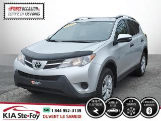 Used 2013 Toyota RAV4 LE* CAMERA DE RECUL* BLUETOOTH* JAMAIS A for sale in Québec, QC
