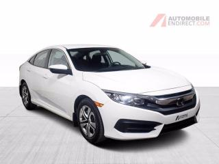 Used 2017 Honda Civic LX A/C Bluetooth Caméra de recul for sale in Île-Perrot, QC