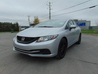 Used 2014 Honda Civic ****FINANCEMENT MAISON DISPONIBLE******* for sale in St-Eustache, QC