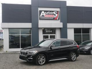 Used 2017 BMW X1 AWD xDrive28i + CUIR + TOIT + VITRES TEINTÉES for sale in Sherbrooke, QC