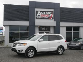 Used 2012 Hyundai Santa Fe GL V6 AWD + INSPECTÉ + BLUETOOTH for sale in Sherbrooke, QC
