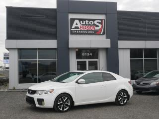 Used 2012 Kia Forte Koup SX COUPÉ + CUIR + TOIT + FREINS NEUFS for sale in Sherbrooke, QC