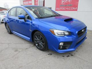 Used 2017 Subaru WRX SPORT TOIT MAG for sale in St-Jérôme, QC