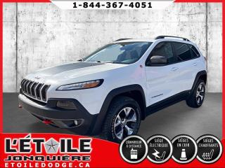 Used 2016 Jeep Cherokee CHEROKEE TRAILHAWK V6 4X4 for sale in Jonquière, QC