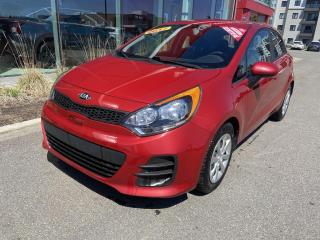 Used 2017 Kia Rio *LX+*SIEGES CHAUFF*BLUETOOTH*CRUISE*A/C* for sale in Québec, QC