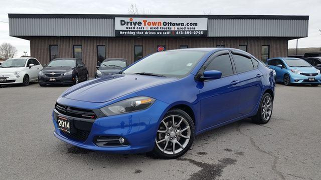 2014 Dodge Dart SXT RALLYE EDITION  **6 SPEED**FUN DRIVER**