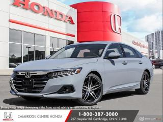 New 2021 Honda Accord Touring 2.0T APPLE CARPLAY™ & ANDROID AUTO™ | LANEWATCH™ CAMERA | GPS NAVIGATION for sale in Cambridge, ON