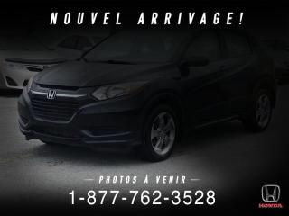 Used 2017 Honda HR-V LX + AUTO + A/C + CAMERA + MAGS + WOW! for sale in St-Basile-le-Grand, QC