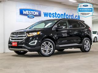 Used 2017 Ford Edge TITANIUM+CAMERA+LEATHER+SONY AUDIO+NAVIGATION for sale in Toronto, ON
