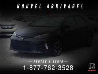 Used 2017 Toyota Corolla SE + AUTO + TOIT + A/C + CAMERA + WOW! for sale in St-Basile-le-Grand, QC