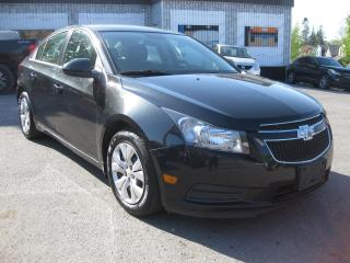 Used 2014 Chevrolet Cruze 1LT FWD Auto AC PL PM PW Bluetooth Cruise for sale in Ottawa, ON