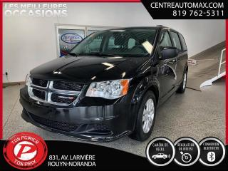 Used 2018 Dodge Grand Caravan SE (Frais VIP 395$ non inclus) for sale in Rouyn-Noranda, QC