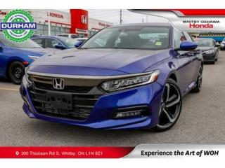 Used 2019 Honda Accord Sport | CVT | Power Moonroof for sale in Whitby, ON