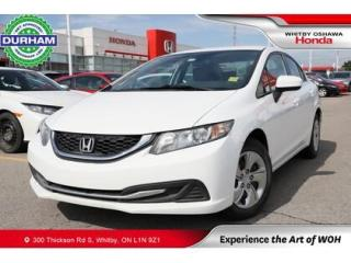 Used 2015 Honda Civic LX | Manual | Heated Front Seats for sale in Whitby, ON