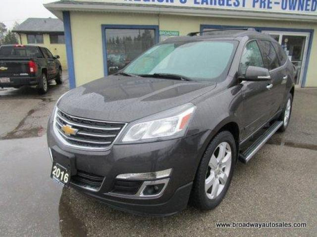 2016 Chevrolet Traverse ALL-WHEEL DRIVE LT EDITION 7 PASSENGER 3.6L - V6.. CAPTAINS.. THIRD ROW.. HEATED SEATS.. BACK-UP CAMERA.. DUAL SUNROOF.. REAR CLIMATE CONTROLS..