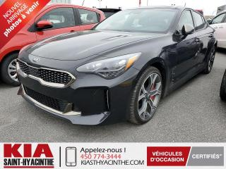 Used 2019 Kia Stinger GT Limited AWD ** NAVI / CUIR / TOIT for sale in St-Hyacinthe, QC