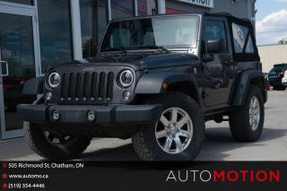 Used 2016 Jeep Wrangler SPORT for sale in Chatham, ON