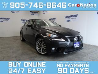 Used 2014 Lexus IS 250 AWD | LEATHER | SUNROOF | NAV | LOW KMS! for sale in Brantford, ON