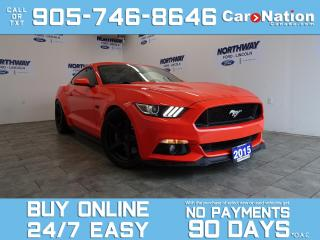 Used 2015 Ford Mustang GT PREMIUM | PERFORMANCE PKG | SUPERCHARGED! for sale in Brantford, ON
