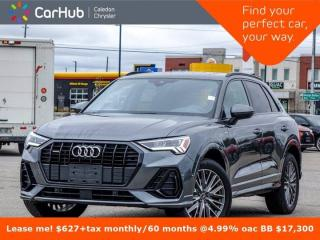 Used 2020 Audi Q3 Technik Quattro Only 4340 Km Navigation Panoramic Sunroof  360 Camera Heat Front Seats 19