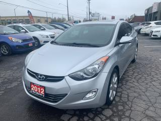Used 2012 Hyundai Elantra Limited w/Navi for sale in Hamilton, ON