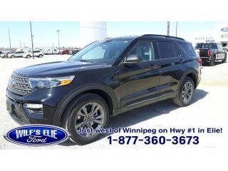 New 2021 Ford Explorer XLT for sale in Elie, MB