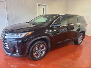 Used 2017 Toyota Highlander LIMITED AWD for sale in Pembroke, ON