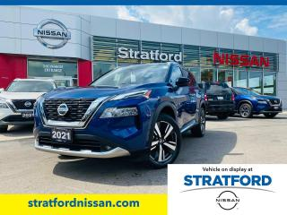 New 2021 Nissan Rogue Platinum AWD for sale in Stratford, ON