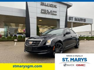 Used 2017 Cadillac ATS Luxury AWD for sale in St. Marys, ON