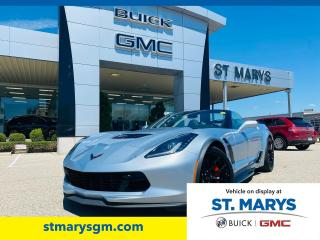 Used 2017 Chevrolet Corvette Z06 Convertible for sale in St. Marys, ON