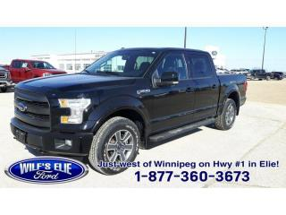 Used 2016 Ford F-150 Lariat for sale in Elie, MB