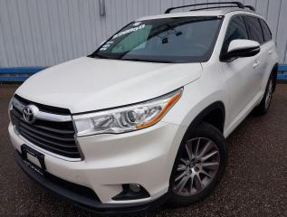 Used 2016 Toyota Highlander XLE *LEATHER-SUNROOF-NAVIGATION* for sale in Kitchener, ON