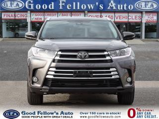 Used 2018 Toyota Highlander XLE AWD, 7 PASS, LEATHER SEATS, SUNROOF, NAVI for sale in Toronto, ON