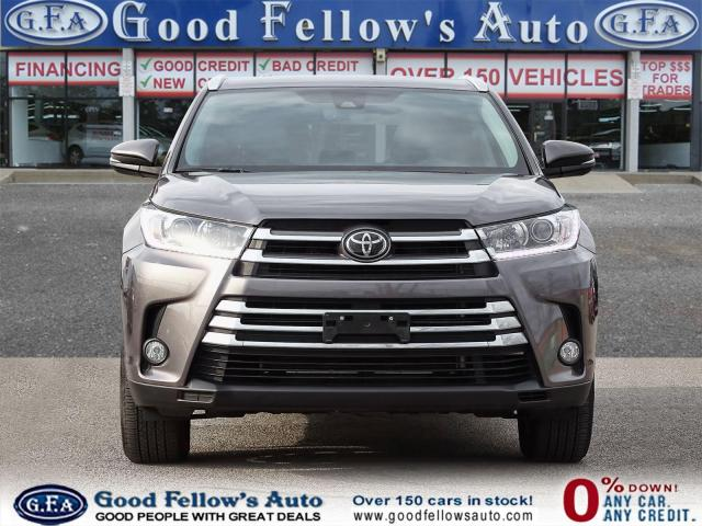 2018 Toyota Highlander XLE AWD, 7 PASS, LEATHER SEATS, SUNROOF, NAVI