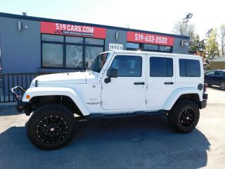 Used 2015 Jeep Wrangler Sahara | Leather | Upgraded Wheels for sale in St. Thomas, ON