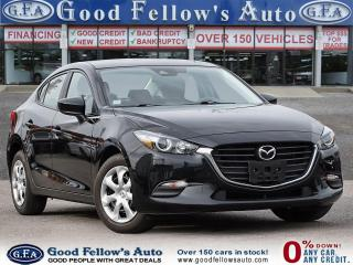 Used 2018 Mazda MAZDA3 GX MODEL, LDW, RAIN SENSOR, REARVIEW CAMERA for sale in Toronto, ON