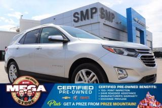 Used 2018 Chevrolet Equinox Premier - AWD, Leather, Sunroof, Navigation, Remote Start for sale in Saskatoon, SK