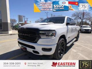 New 2021 RAM 1500 Sport | Panoramic Sunroof | Forward Collision Warning | for sale in Winnipeg, MB