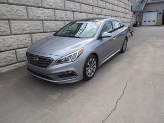 Used 2016 Hyundai Sonata 2.4L Sport Tech $55/wk Taxes Incl. $0 Down for sale in Fredericton, NB