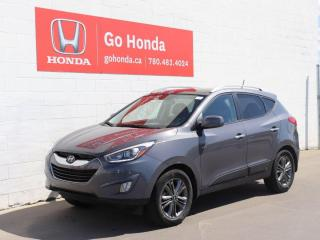 Used 2014 Hyundai Tucson AWD/GLS/BLUETOOTH/BACK-UP CAMERA/CLEAN for sale in Edmonton, AB