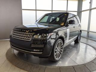Used 2015 Land Rover Range Rover SC Autobiography for sale in Edmonton, AB