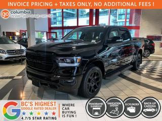 New 2021 RAM 1500 Laramie Night Crew HEMI for sale in Richmond, BC