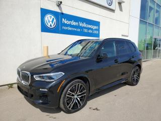 Used 2019 BMW X5 xDrive40i - M SPORT - FULL LEATHER + MASSAGE SEATS / AIR RIDE! for sale in Edmonton, AB