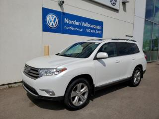 Used 2013 Toyota Highlander LIMITED 4WD - LOADED W/ SUPER LOW KMS! for sale in Edmonton, AB