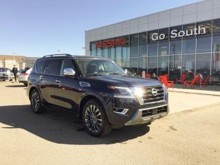 New 2021 Nissan Armada Platinum for sale in Edmonton, AB