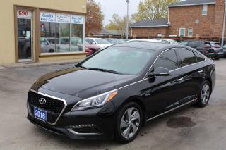 Used 2016 Hyundai Sonata LIMITED HYBRID for sale in Brampton, ON